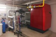 Centrale termica condominiale 400kW
